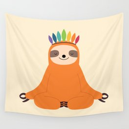 Master Of Calm Wall Tapestry
