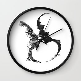 The In-Between Wall Clock