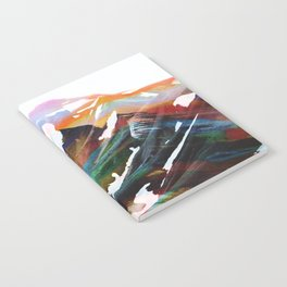 Abstract Mountains II Notebook