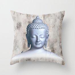 Μy inner Buddha Throw Pillow