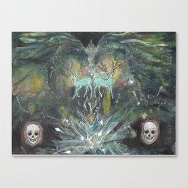 gemini nebula Canvas Print