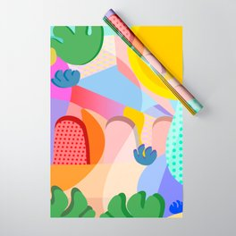 Summer Side Wrapping Paper