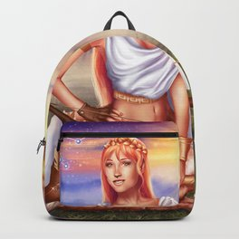 Sagittarius OC - 12 Zodiac Ladies Backpack