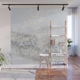 Silver Gray Glitter #3 #shiny #decor #art #society6 Wall Mural