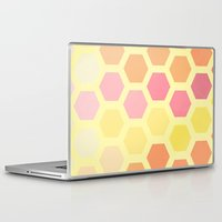 honeycomb Laptop & iPad Skins featuring Honeycomb by MisfitIsle