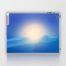 Ice Cold Blue Laptop & iPad Skin