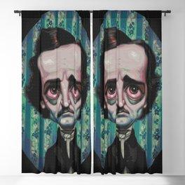 Edgar Allan Poe (Painting) Blackout Curtain