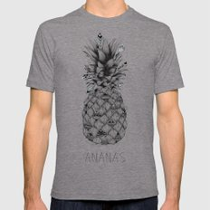 Ananas Tri-Grey Mens Fitted Tee LARGE