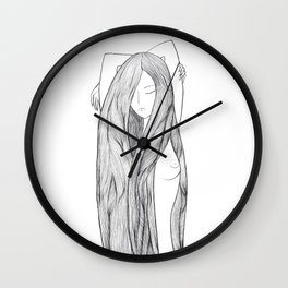 Naked Eva Wall Clock