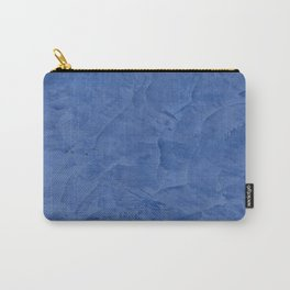 Tuscan Blue Plaster | Corbin Henry | Faux Finishes Carry-All Pouch