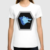 hologram T-shirts featuring Visionaries Wolf by Eden Nur Madinah