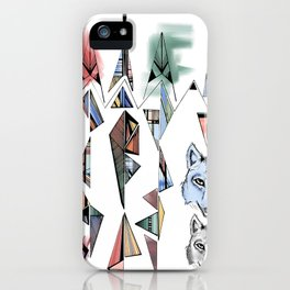 Mountian Wolves  iPhone Case
