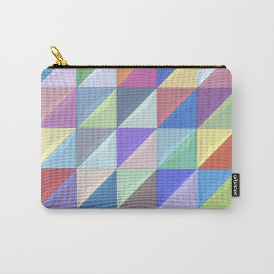 Geometric Shapes I Carry-All Pouch