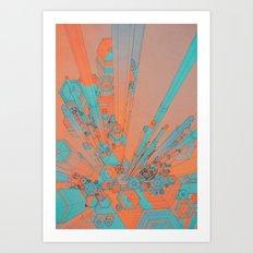 LAXXX (everyday 10.30.16) Art Print