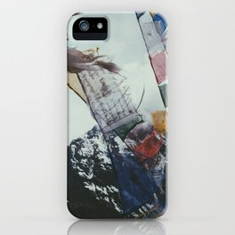 Nepales Mountains Photo Print iPhone Case