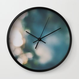 Dancing Orbs Wall Clock