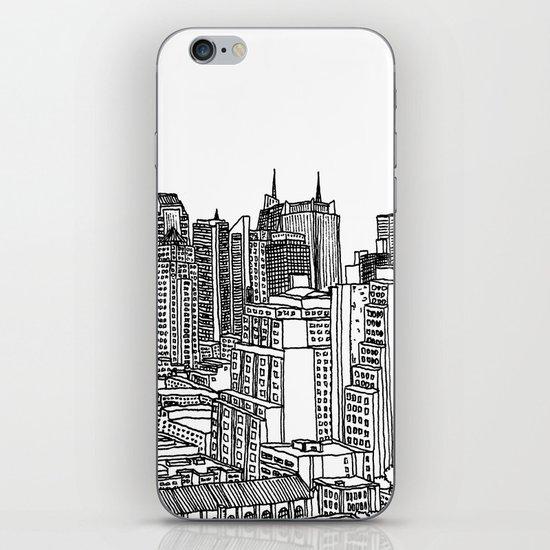 New York View 2 iPhone & iPod Skin