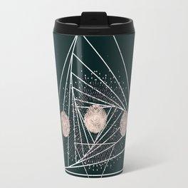 Moon Matrix Travel Mug