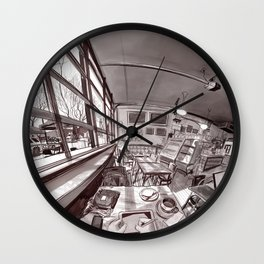 Denver Coffeehouse Wall Clock