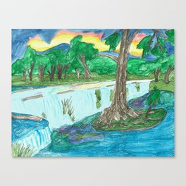 Cypress Creek Canvas Print