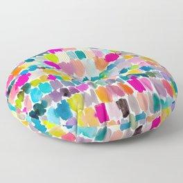 Paradise Painterly Floor Pillow