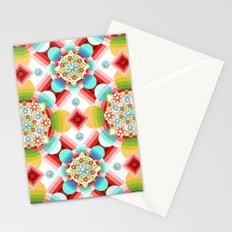 Millefiori Ombre Geometric Stationery Cards