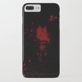 Blood iPhone Case