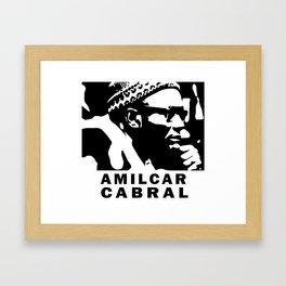 Amilcar Cabral Framed Art Print
