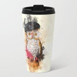 Spain Owl Travel Mug