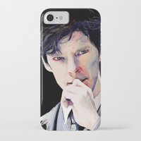 benedict iPhone & iPod Cases featuring Benedict Cumberbatch by Hash