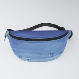 Aries Constellation, Mountains Fanny Pack