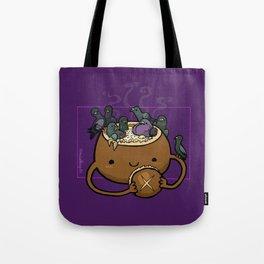 Food Series - Chowder Bread Bowl Tote Bag