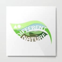 DIFFERENT NATURE - ROAD TO MUNICH Metal Print