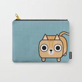 Cat Loaf - Orange Tabby Kitty Carry-All Pouch