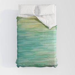Grunge texture green color Comforters