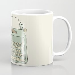 Retro typewriter Coffee Mug