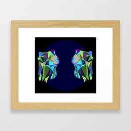 Youngbird Skulls Framed Art Print