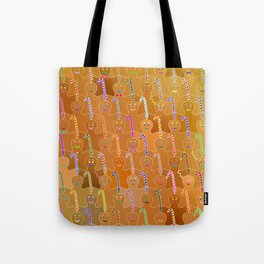 Happy Gingerbreads Tote Bag