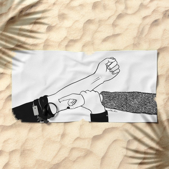 Addicted To You Beach Towel