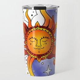 Euphoric Sun in Color Travel Mug