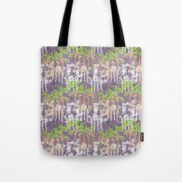 Oriental floral vine pattern Tote Bag