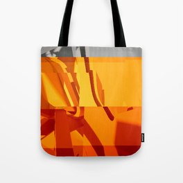 Abstract Glitch 02 Tote Bag