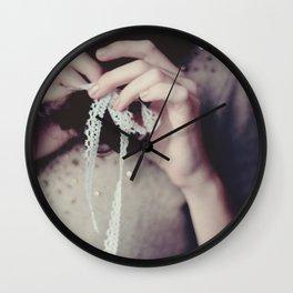 tied up Wall Clock