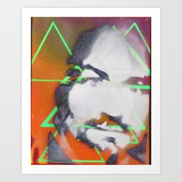 Charlie Manson Art Print