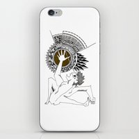 shadow of the colossus iPhone & iPod Skins featuring Colossus by Geek World