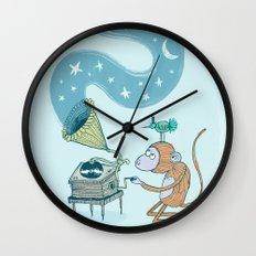 'Night Sounds' Wall Clock