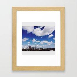 Pier Overlook Framed Art Print