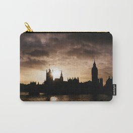 View over Westminster, Big Ben, London at Sunset Carry-All Pouch