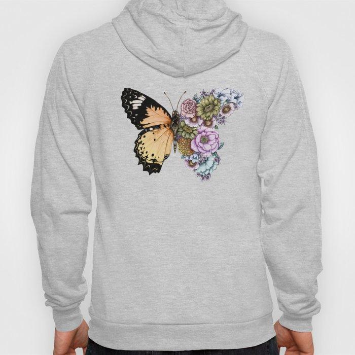 Butterfly in Bloom II Hoody