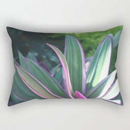 Macro Fuchsia Plant - Nature Photography Rectangular Pillow